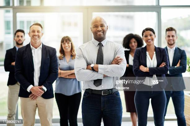 leadership image of man in office